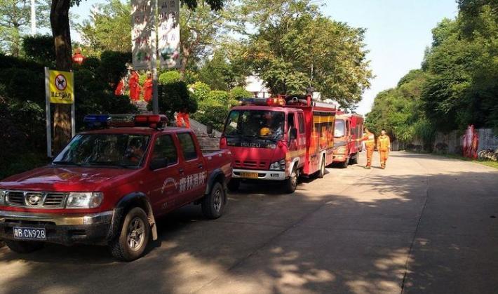宝龙街道开展森林火灾应急演习
