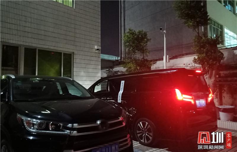 """龙岗法院交警联动查控 不到10天扣下4台""""老赖""""车辆"""