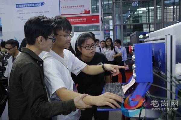 深圳信息学院45项成果亮相高交会